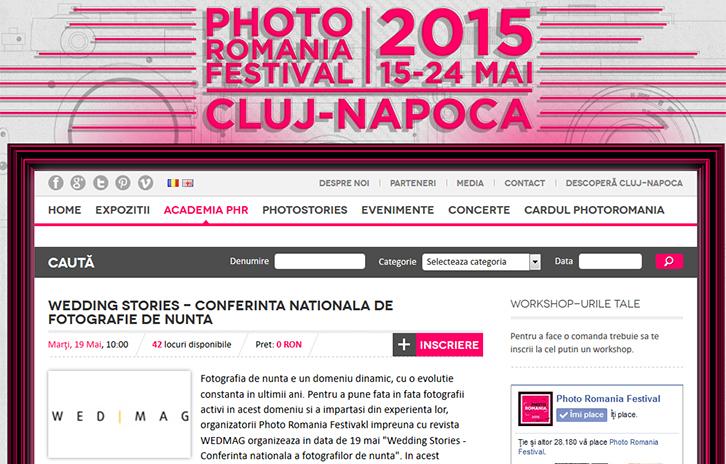 conferinta nationala a fotografilor de nunta romania