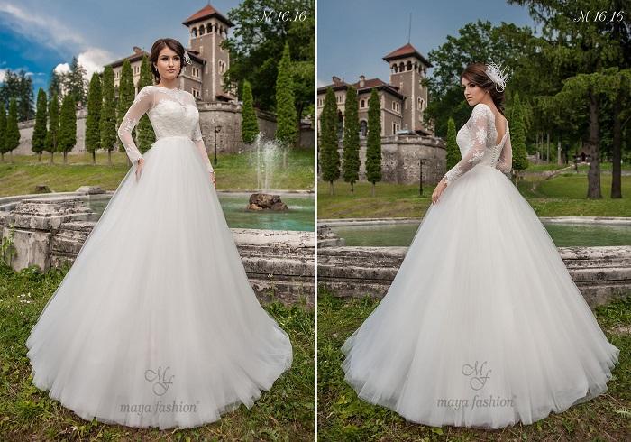 Pentru o nunta de poveste, modelul M16.16 reprezinta alegerea perfecta.
