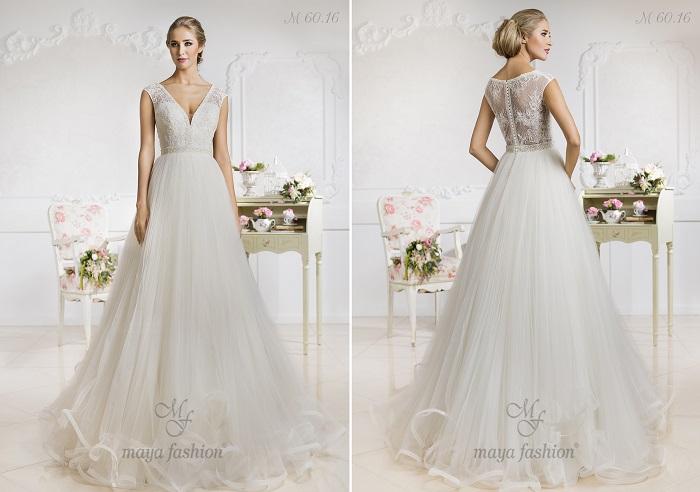 M60.16 - O rochie cu un aspect aristocrat ce te va aduce in prim plan.