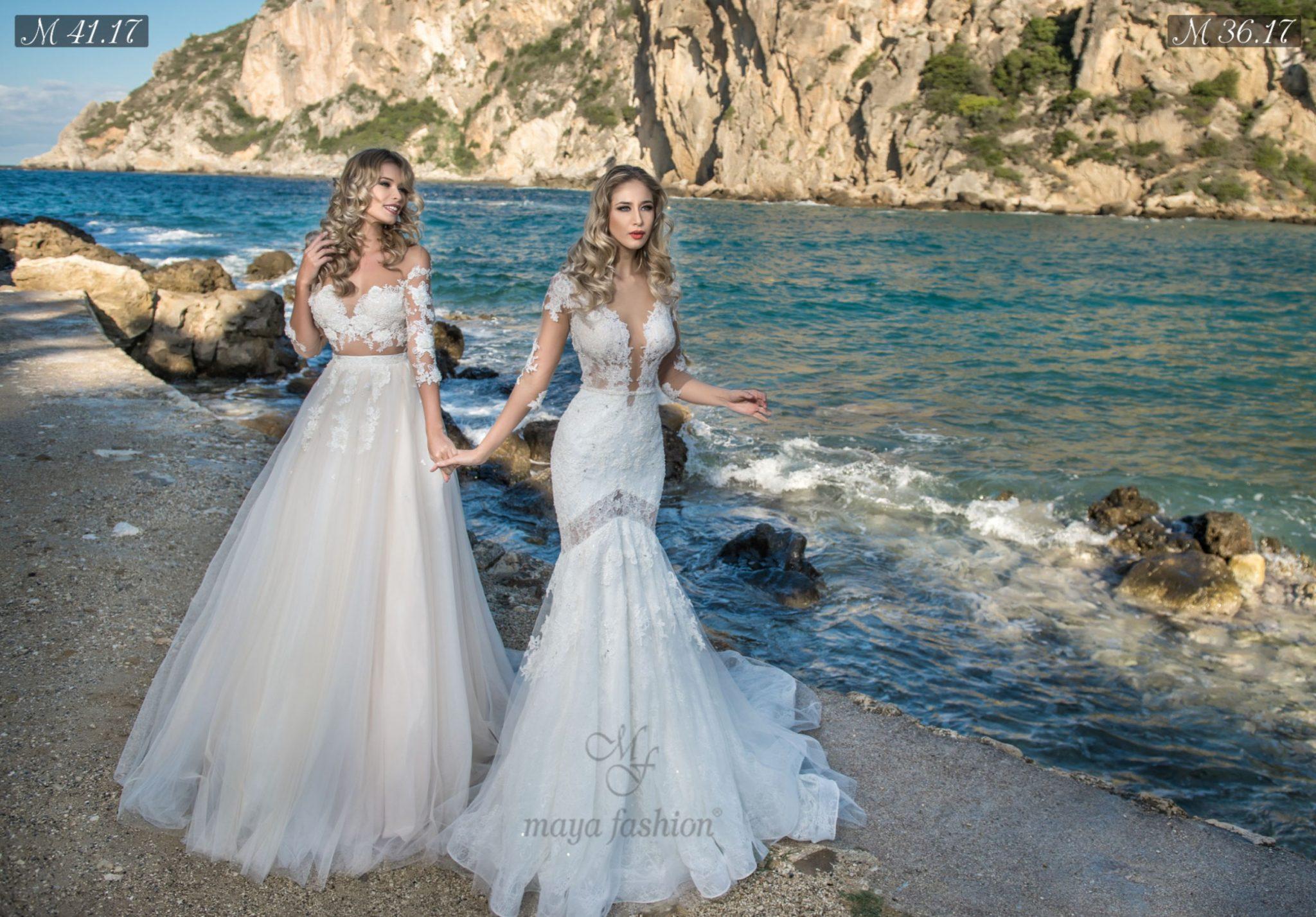 Rochii De Mireasa Maya Fashion Noua Colectie Serenity 2017