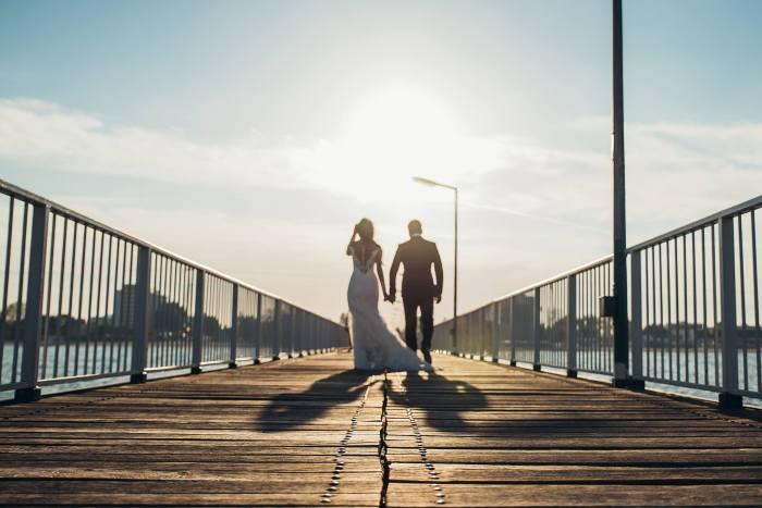 Claudiu Arici fotografie de nunta silueta