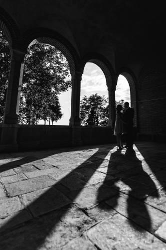 Cezar Brasoveanu fotografie de nunta silueta
