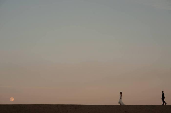 Gabriel Rugina fotografie de nunta silueta