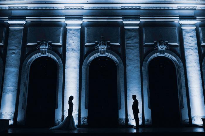 Mihai Ruja fotografie de nunta silueta