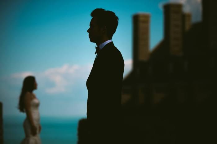 Sebastian Gutu fotografie de nunta silueta