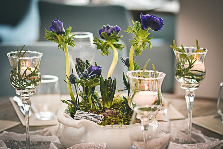 flori de primavara la nunta