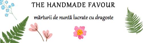 The Handmade Favour  marturii de nunta