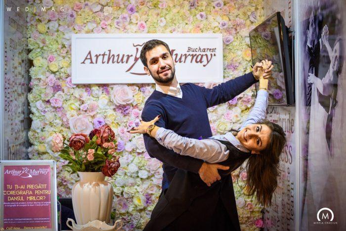 arthur murray coregrafie pentru dansul mirilor