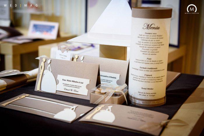 paper art papetarie de nunta
