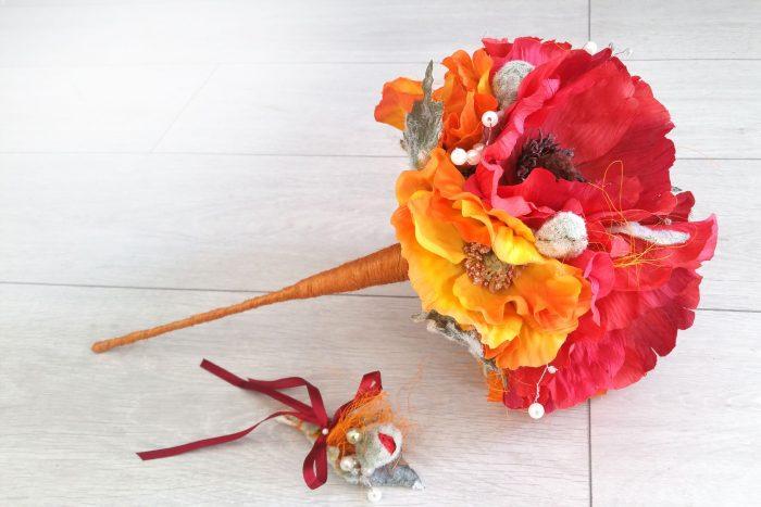 accesorii florale pentru domnisoarele de onoare