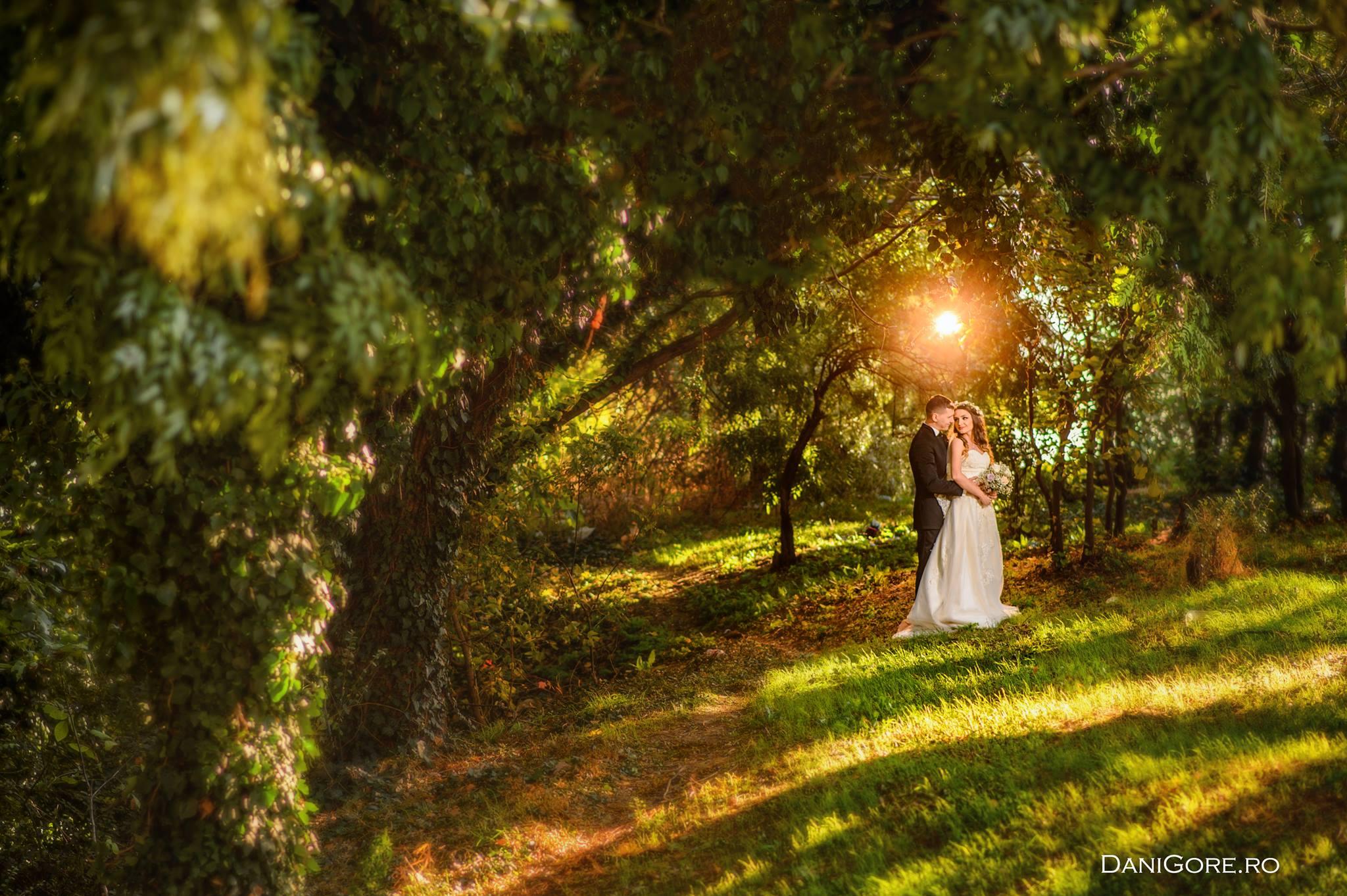 Dani Gore, imagini de nunta din Romania