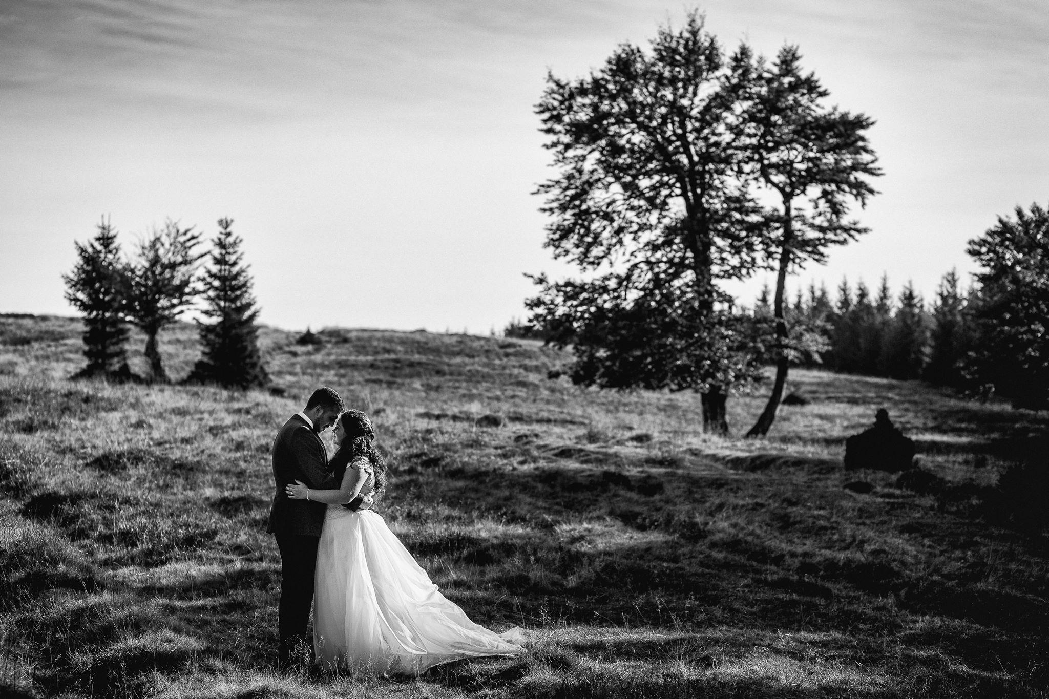 Georgian Malinetescu, imagini de nunta din Romania