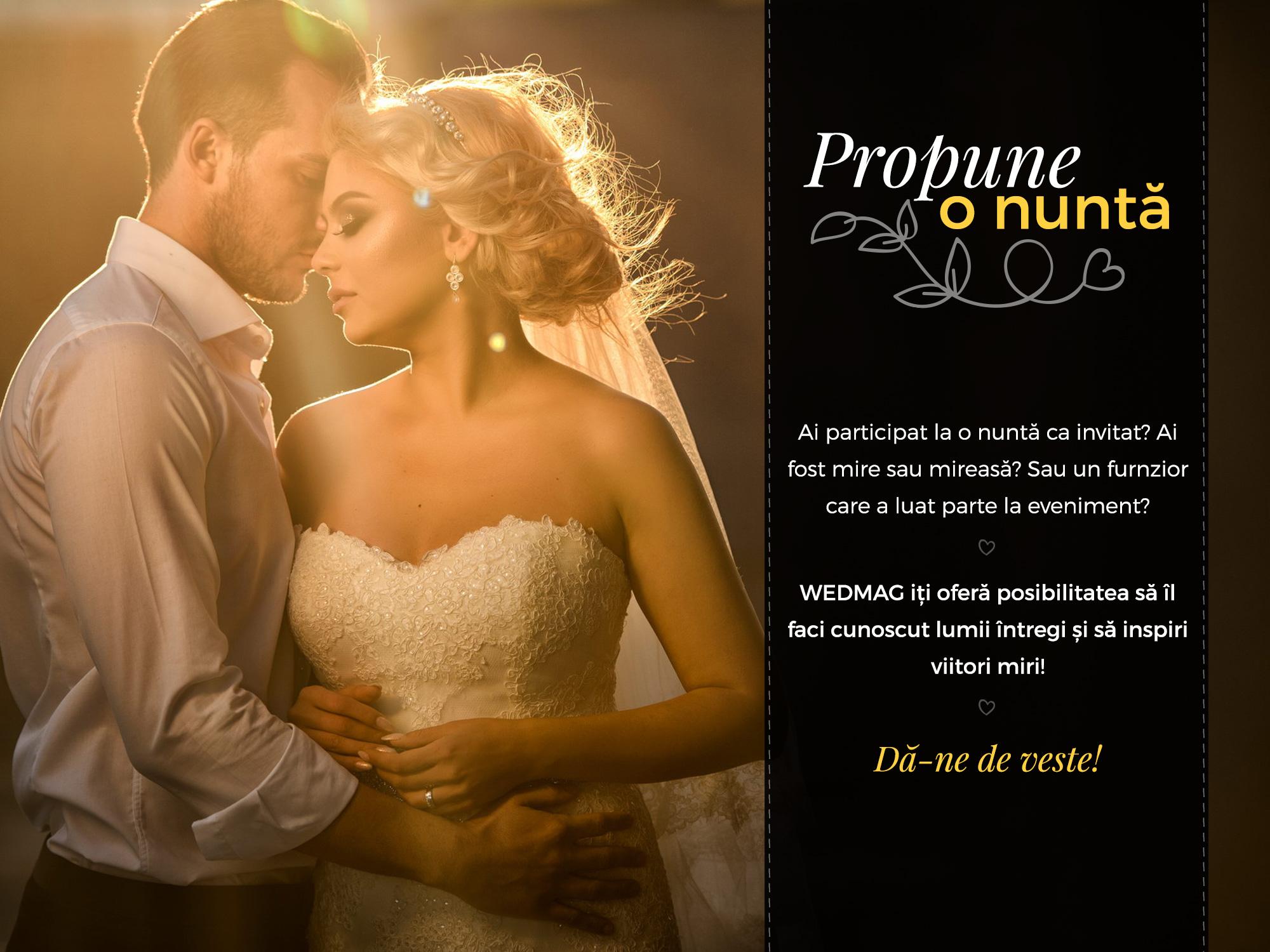 wedmag propune o nunta