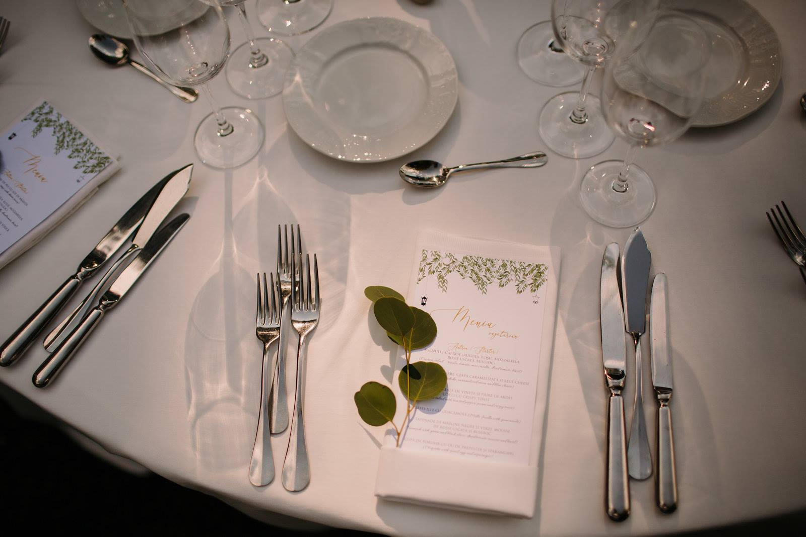 meniul de nunta modern