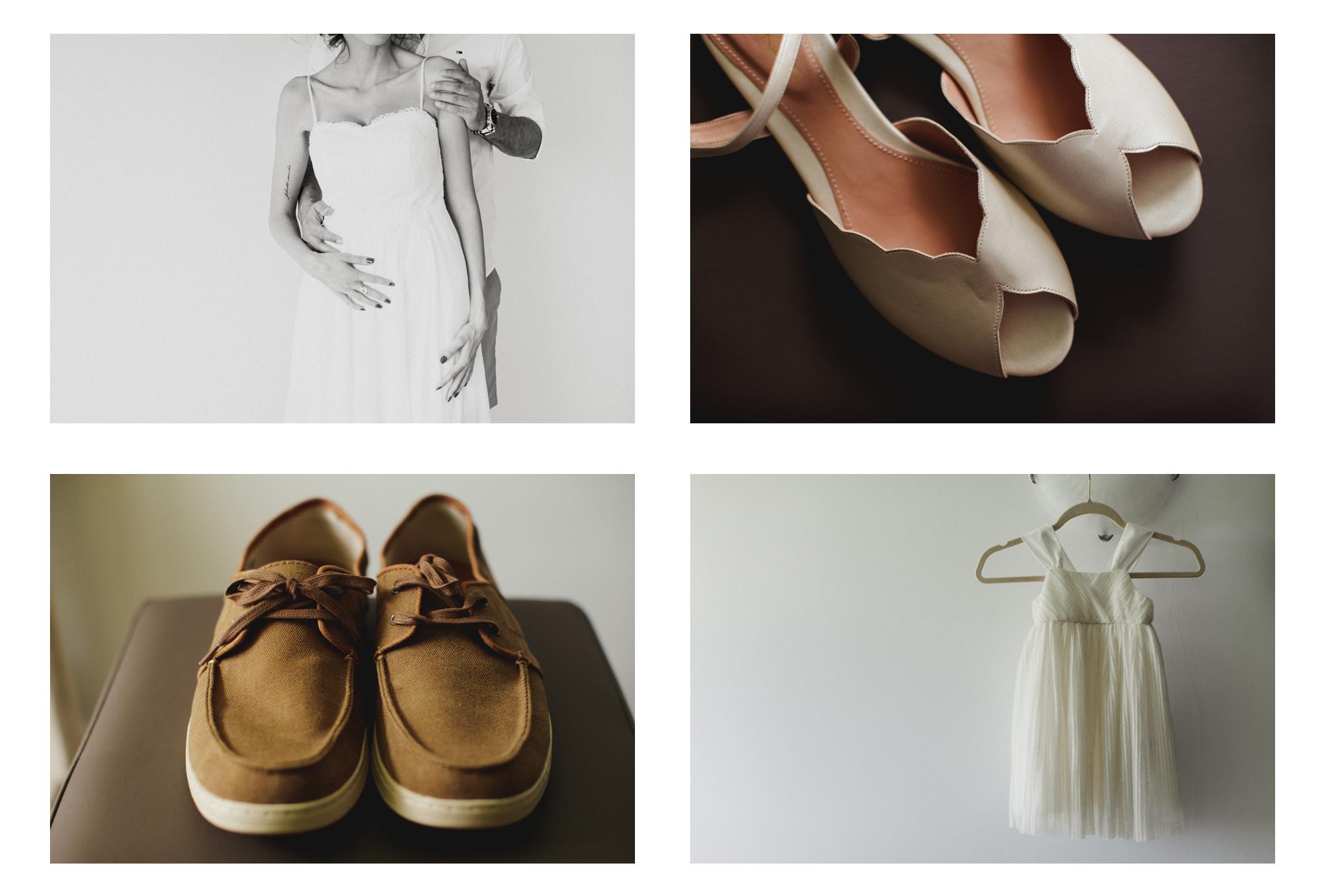 Pantofi de nunta din materiale ecologice