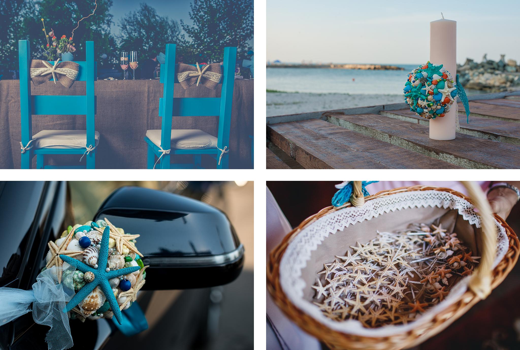 Aranjamente cu tematica marina Almira Events