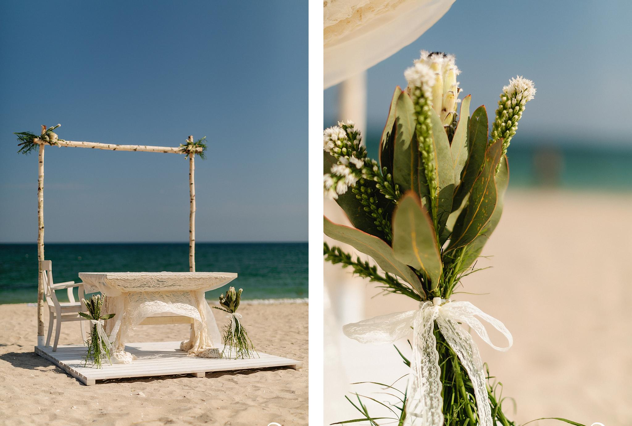Ceremonie de nunta in aer liber