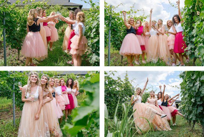 pregatiri mireasa si domnisoare de onoare almira events nunta in vie