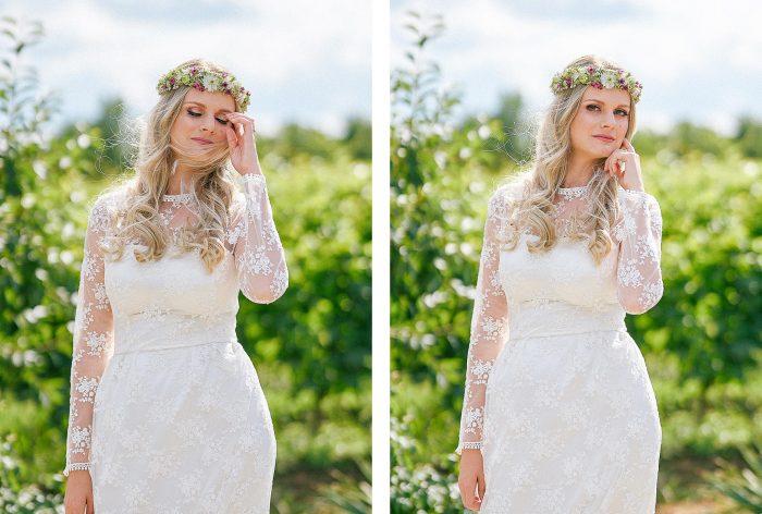 coronita flori mireasa nunta in vie almira events