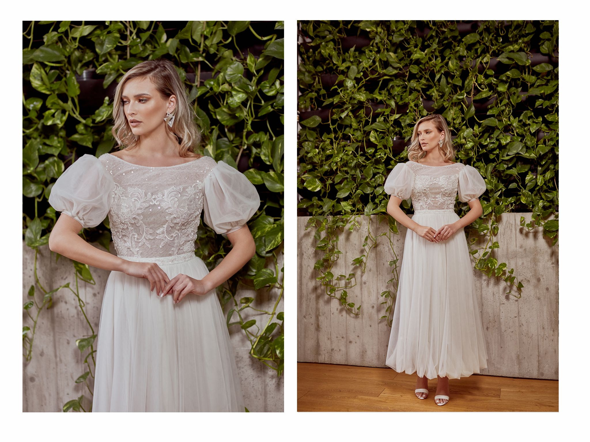 rochie de mireasa siluetă tip dreptunghi maigre couture