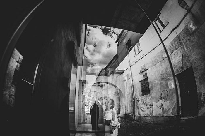 Fotografie de nuntă abstractă