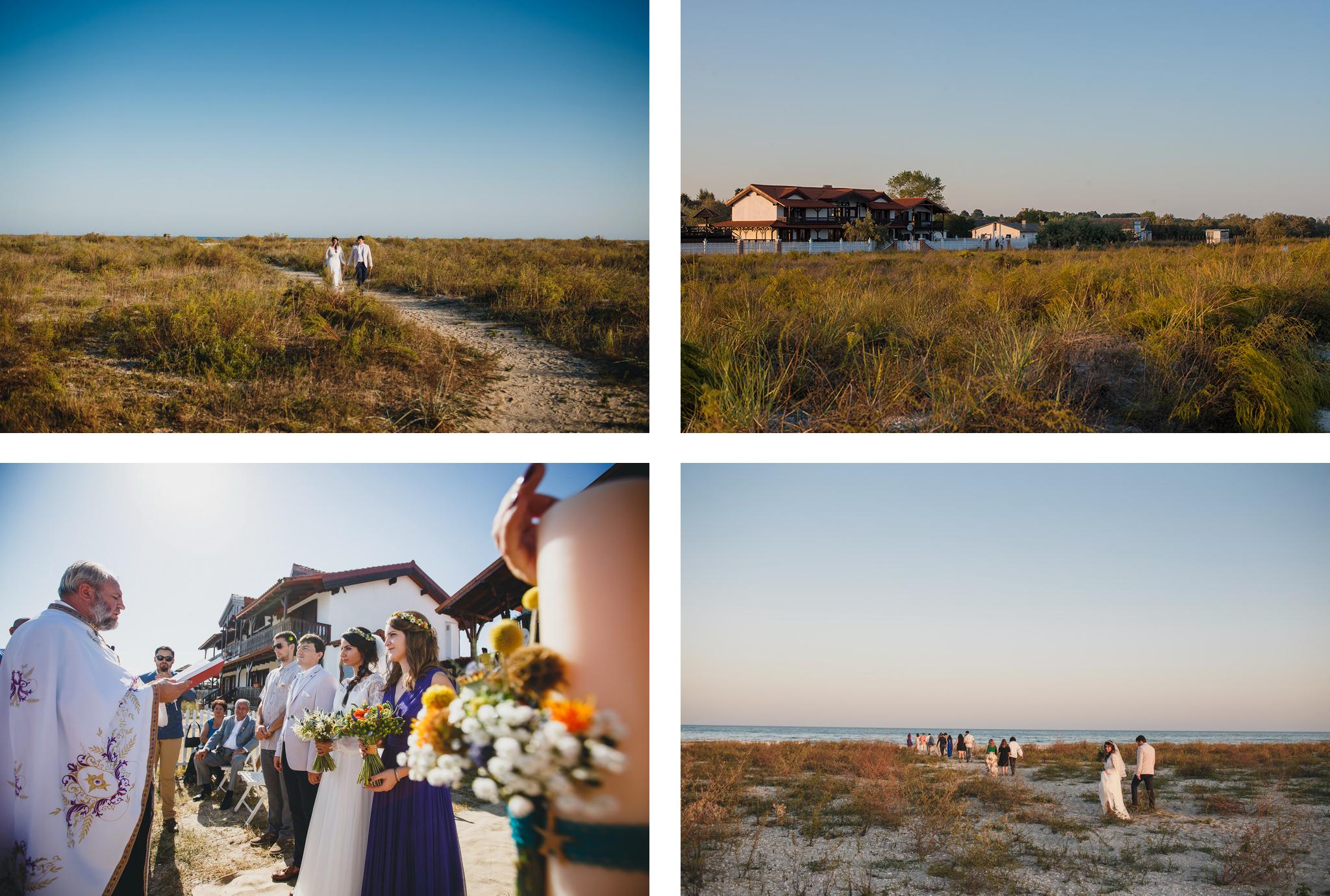 nunta la mare sau pe plaja in romania