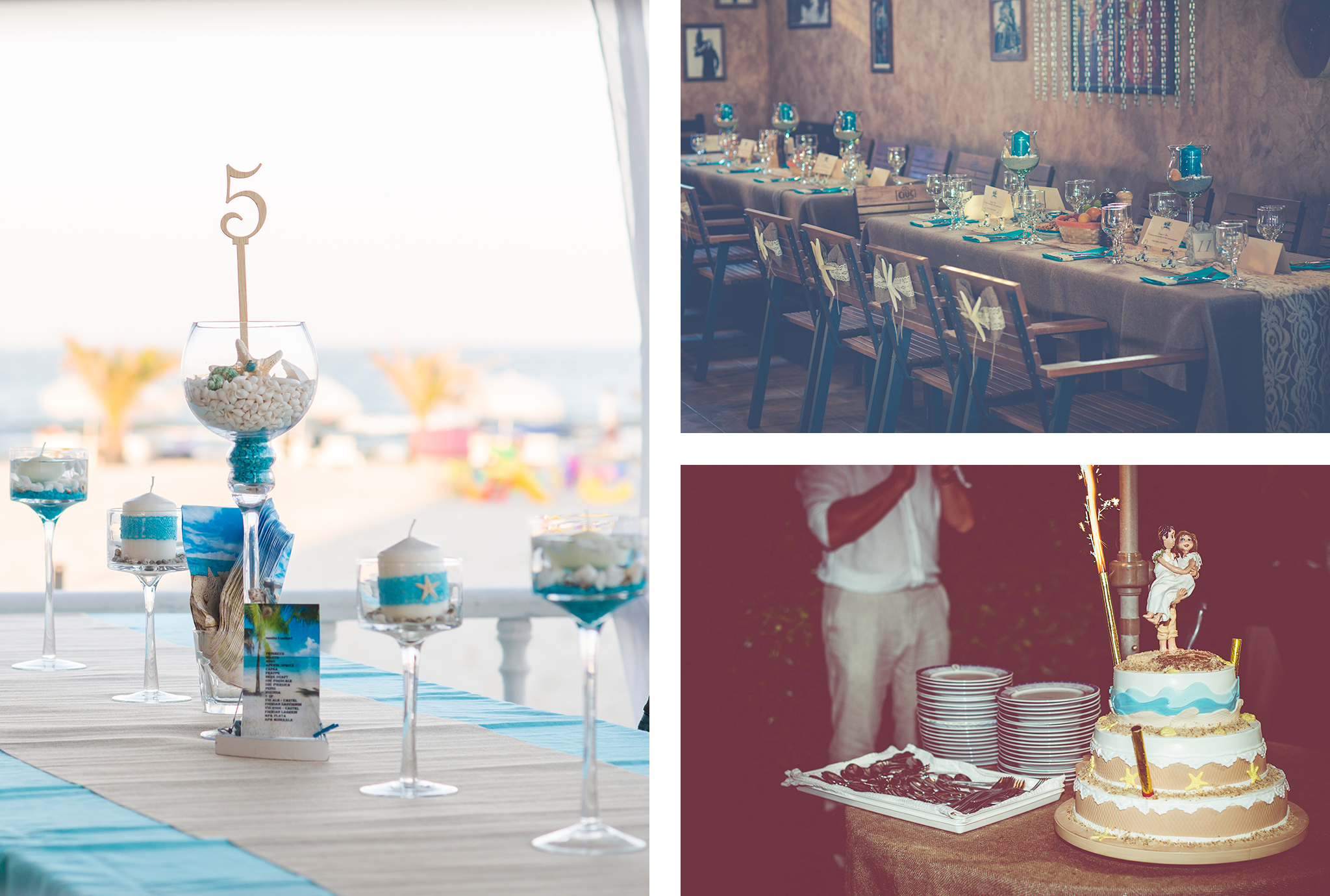 nunta cu tematica marina