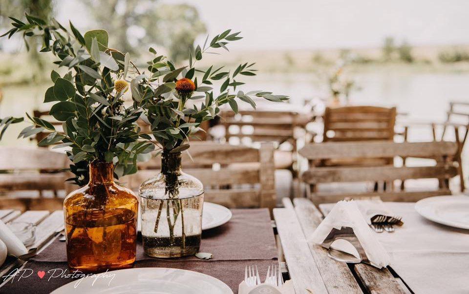 Decor nunta minimalist
