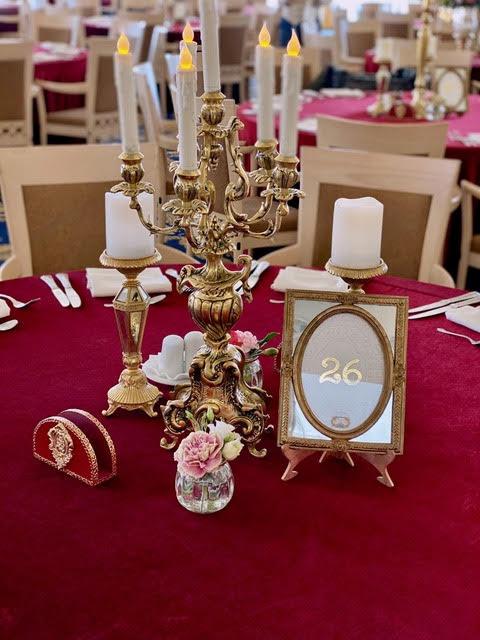 aranjamente lumanari nunta